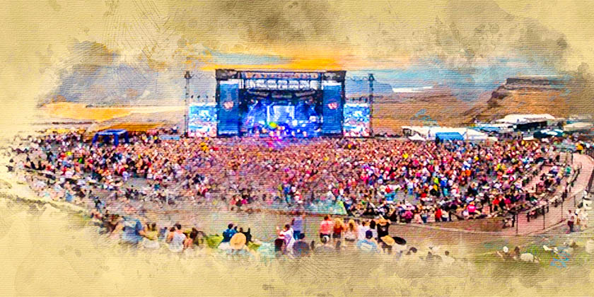 Gorge Amphitheatre Food Seating And Parking Guide