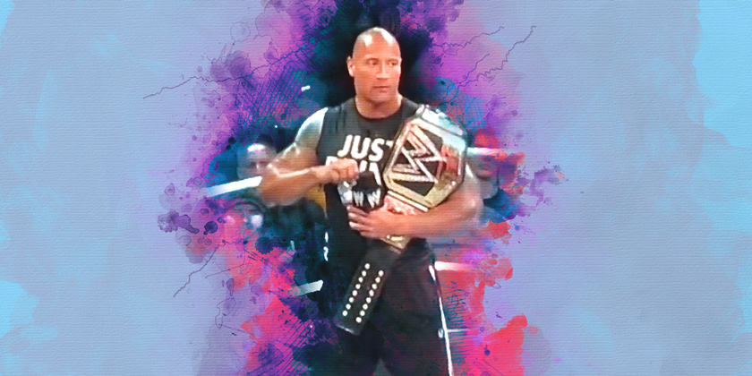 The Rock At Smackdown 1000
