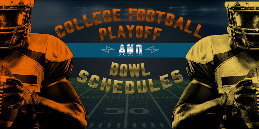 College Football Playoff and Bowl Schedules 2018
