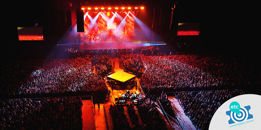 Top stadiums according to music fans.