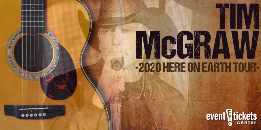 Tim McGraw Here on Earth 2020 Tour