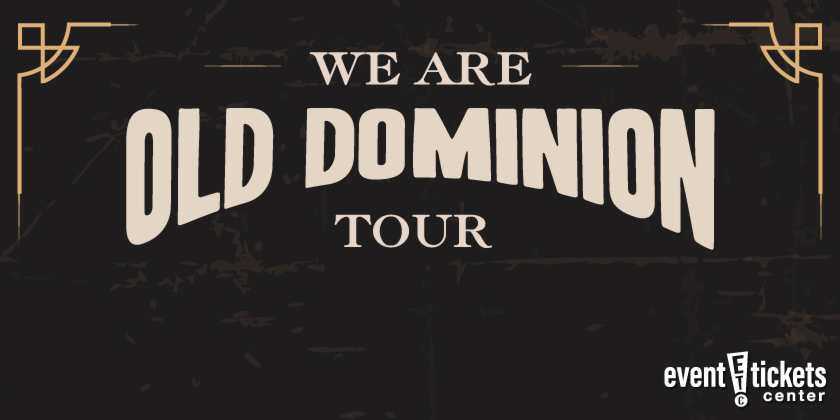Old Dominion We Are Old Dominion Tour 2020