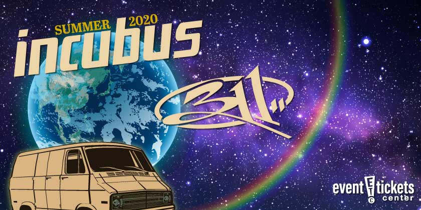 Incubus and 311 Summer Tour 2020