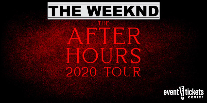The Weeknd After Hours Tour 2020