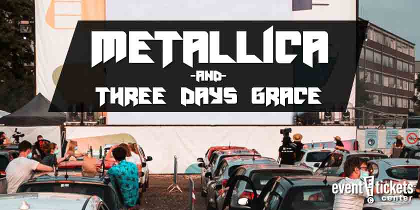 Metallica Drive In Theater Concert Locations Details