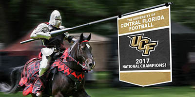 Self-proclaimed national champions UCF Knights.