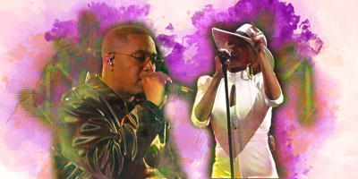 Mary J. Blige and Nas 2019