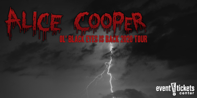 Alice Cooper Rescheduled Ol' Black Eyes Is Back Tour 2020