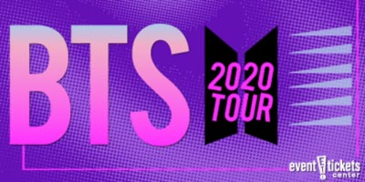BTS Map of the Soul: 7 World Tour 2020