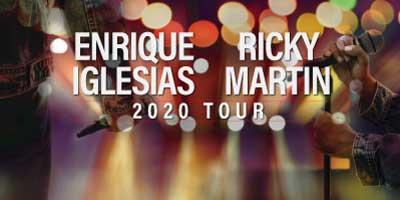 Enrique Iglesias and Ricky Martin Co-Headlining Tour 2020